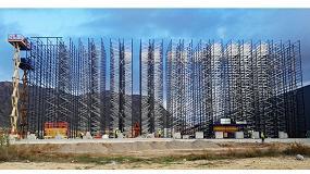 Foto de Plataformas de Vamasa-Mateco en la construcción de un centro logístico en Alicante