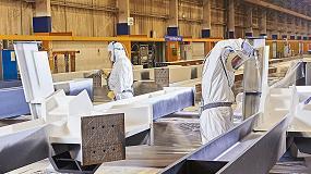 Foto de Proteger a los trabajadores de la siderúrgica Severfield con DuPont Tyveksin sofocarse