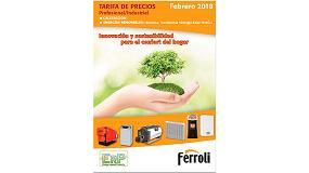Foto de Ferroli lanza su nueva Tarifa de Precios