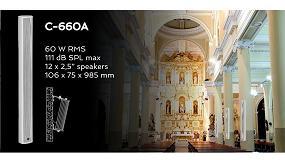 Foto de Columna acústica Optimus de 60 W y 985 mm de altura