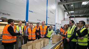 Foto de Werfen inaugura en Tarancón su nuevo centro logístico para España y Portugal