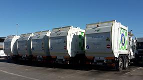Foto de La UTE RM2 adquiere diecisiete recolectores de carga lateral AMS CL1-N para recoger los residuos de Madrid