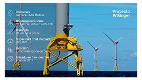 Foto de Iberdrola aplicará el proyecto de I+D Romeo en su parque eólico marino Wikinger