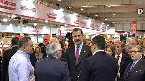 Foto de S.M. Felipe VI inaugura la FIMA más multitudinaria