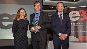 Foto de ISTOBAL, galardonada con el 'Premio Economía 3'