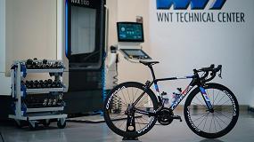 Foto de Herramientas y mecanizado en la presentación del equipo ciclista profesional WNT-Rotor