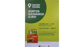 Foto de Recogida de pilas en Luís Simõe apoya la labor del Instituto de Oncología