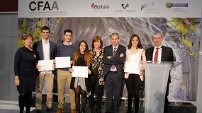 Foto de Jóvenes especializados en aeronáutica y máquina-herramienta reciben sus diplomas en el CFAA