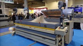 Foto de Global Vacuum Presses expuso en FIMMA 2018 sus novedades en prensado al vacío y calentamiento industrial