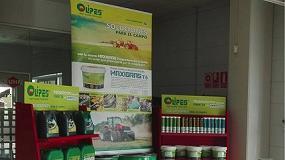 Foto de Promoción de productos Olipes en el stand de Ebroparts