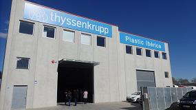 Foto de Thyssenkrupp Plastic Ibérica inaugura sus nuevas instalaciones en Mollet del Vallès