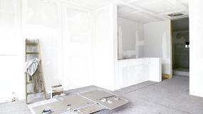 Foto de Knauf presenta la placa Snowboard, la más blanca del mercado