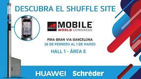Foto de El 'Shuffle Site' de Huawei y Schréder, en el Mobile World Congress 2018