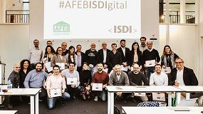 Foto de Finaliza con éxito el curso sobre estrategia y marketing digital de Afeb