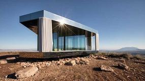Foto de 'La casa del desierto', el proyecto Guardian Glass que desafía a la naturaleza para mejorar el mundo de ventanas adentro