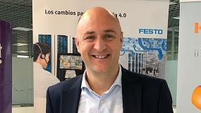 Foto de Entrevista a Xavier Segura, director general de Festo España y Portugal