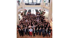 Foto de Doosan Infracore reúne a sus distribuidores europeos