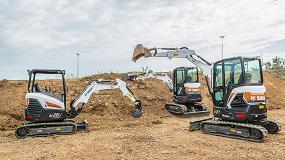 Foto de Bobcat lanza una generación completamente nueva de excavadoras compactas
