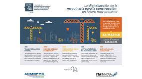 Foto de Zaragoza acoge la I Jornada de innovación tecnológica aplicada a maquinaria para la construcción