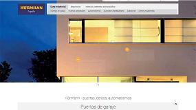 Foto de Hörmann lanza su nueva web corporativa