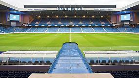 Foto de Rangers Football Club, el club de élite de Glasgow, apuesta por la videotecnología de Dallmeier