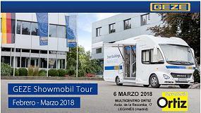 Foto de El tour del GEZE Showmobil por España y Portugal hace una parada en Multicentro Ortiz