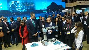 Foto de Universal Robots, en el Mobile World Congress 2018