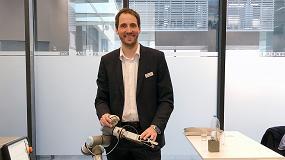 Foto de Entrevista a Ákos Dömötör, CEO de OptoForce