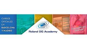 Foto de Roland DG Academy imparte nuevos cursos para profesionales del sector de la impresión digital