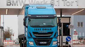 Foto de El Grupo BMW elige el Stralis NP para probar la tecnología GNL dentro de su cadena logística
