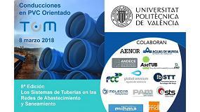 Foto de Las Conducciones de PVC-O, en la Jornada Técnica 'Los Sistemas de Tuberías en los Abastecimientos y Saneamientos'