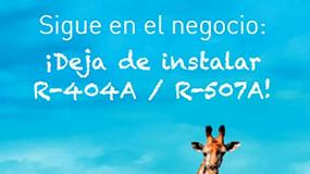 Foto de Aefyt se une a las asociaciones europeas que demandan el cese del uso de R404A y R507A