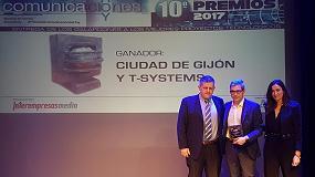 Foto de ComunicacionesHoy premia la gestión inteligente del alumbrado público del Ayuntamiento de Gijón