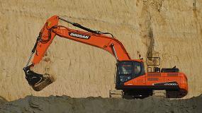 Foto de La excavadora DX300LC-5 de Doosan gana el premio al menor coste de propiedad