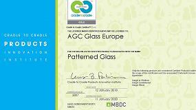 Foto de AGC obtiene el certificado Cradle to Cradle Oro para su vidrio impreso