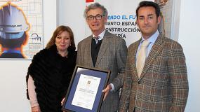 Foto de Anmopyc obtiene el certificado de Calidad según la nueva ISO 9001