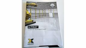Foto de Axelent Suecia imparte una formación sobre el sistema de bandeja de rejilla para cables X-Tray