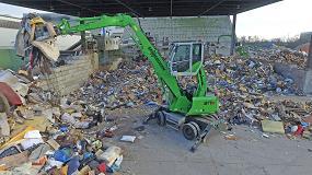 Foto de La nueva Sennebogen817E convence como excavadora compacta para la gestión de residuos