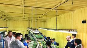 Foto de Grupo Cristalplant recibe en sus instalaciones a profesionales semilleristas internacionales