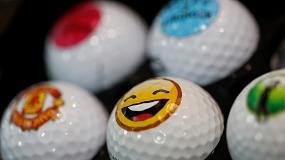 Foto de Mejorar el swing de la impresión con la personalización de pelotas de golf