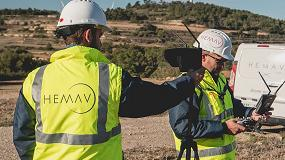 Foto de Bodegas Lahoz utiliza drones para mejorar la producción de sus viñedos en un 12%