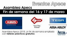 Foto de Apecs ofrece talleres prácticos de cerrajería del hogar en el marco de su Asamblea General