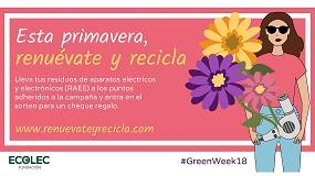Picture of La Fundación Ecolec celebra la segunda edición de la #GreenWeek18 en seis ciudades españolas
