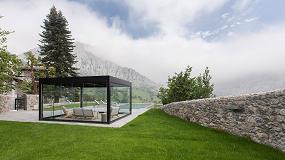 Foto de Disfrutar del exterior todo el año es posible con la pérgola bioclimática Kanopée de Kawneer