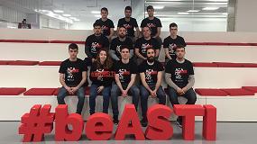 Foto de Doce alumnos de grados superiores de FP se incorporan a ASTI TechGroup gracias al programa ASTI Academy