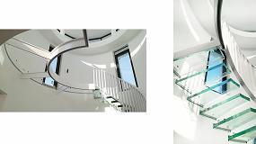 Foto de Vidresif presenta su escalón de vidrio pisable extraclaro Lsif