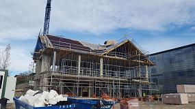 Foto de Sistema SIATE de cubierta Onduline, una solución ideal para la nueva construcción de cubiertas inclinadas en edificios de viviendas y públicos