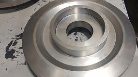 Foto de Renishaw reduce el tiempo de mecanizado de las turbinas aeroespaciales