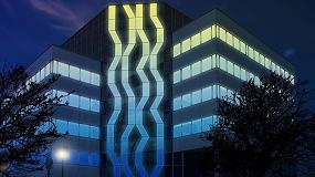 Foto de Light+Building 2018: AGC presenta Glassiled Uni, la última innovación en soluciones de vidrio con diodos LED integrados