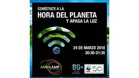 Foto de El próximo sábado 24 de marzo, Ambilamp apagará su luz para conectar con el planeta